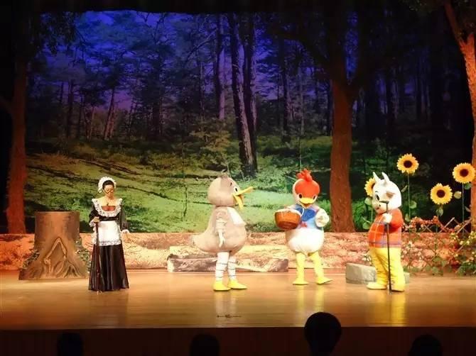 大型互动儿童舞台剧《丑小鸭》-青柠时代-中国儿童中心剧院-6月16日